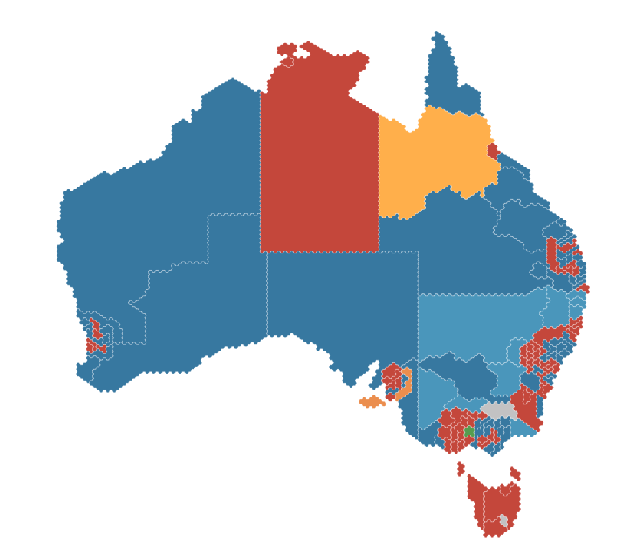 2016 Federal Election Results
